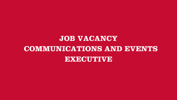 Communications and Events Executive