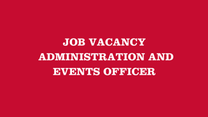 Administration & Events Officer